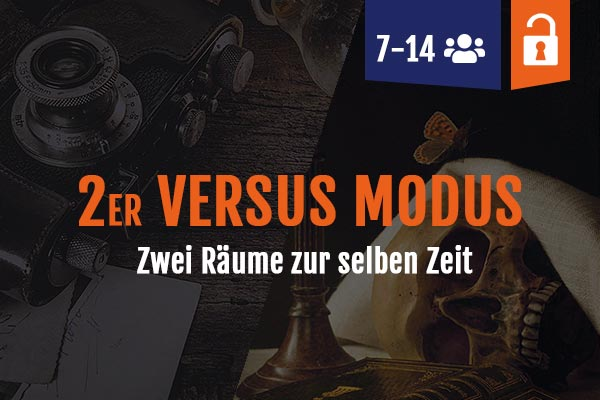 Escape Rooms ab 7 Personen