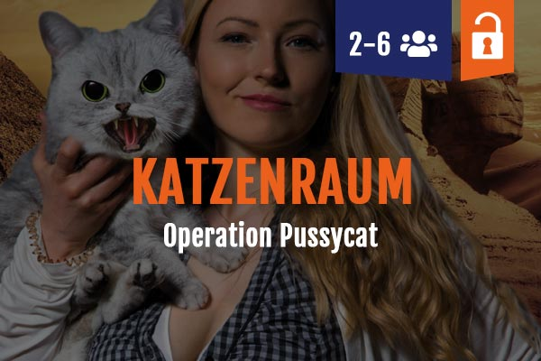 Katzenraum, Scienceraum, Scienceroom Escape Room Nienburg