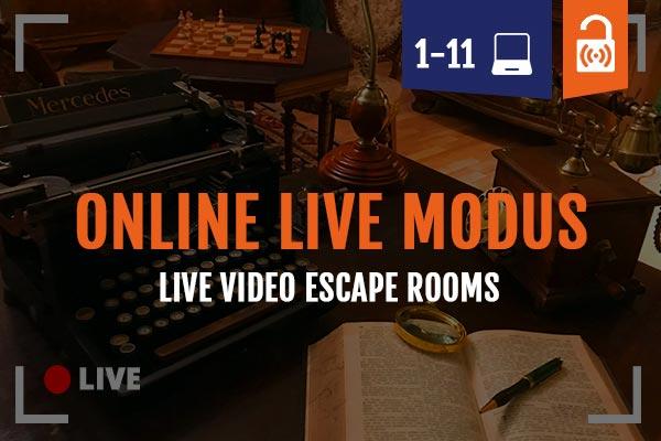 Remote Escape Room Nienburg Online Live Modus