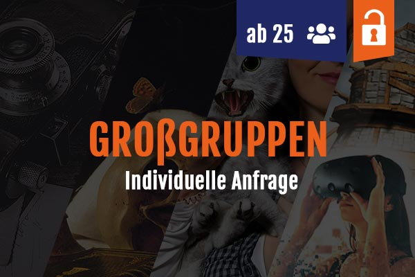 Escape Rooms ab 25 Personen
